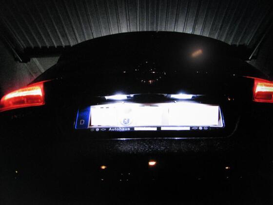 LED Kennzeichenleuchten