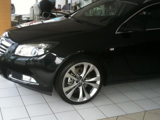 Insignia BiTurbo 4x4 Erstkontakt (Opel Insignia - Sports Tourer)