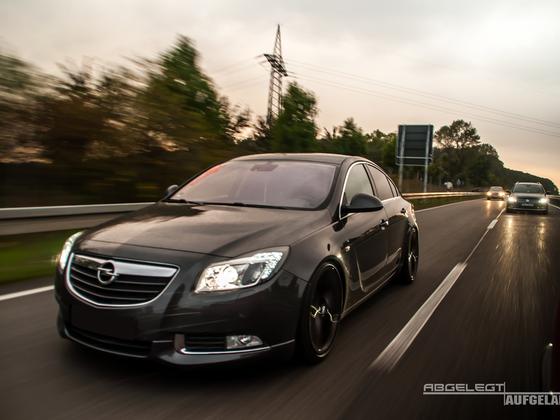 Opel Insignia KW V3 Gewindefahrwerk by gepfeffert.com & Simons Abgasanlage